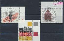 BRD Mi.-Nr.: 2962,2963,2970 (kompl.Ausg.) Gestempelt 2012 Sieben, Hauptmann, Fachwerk (9328793 - BRD