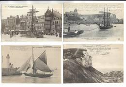 76 - Lot De 20 Cartes Postales Différentes De La Ville LE TREPORT ( Seine-Maritime ) - Toutes Scannées - Le Treport