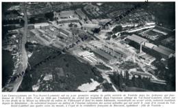 1929 : Photo, Belgique, Les Cristalleries Du Val-Saint-Lambert, Seraing, Vonêche, Vallon De Villencourt - Collections