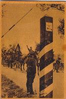 """POSTAL DIVISION AZUL SERIE 1 CUADRO 4 """"EN LA FRONTERA RUSO-SOVIETICA"""" SIN ESCRIBIR - BIEN CONSERVADA - VER FOTOS - Guerra 1939-45"""