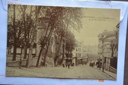 BAYONNE-le Chateau Vieux Et La Rue Thiers-offerte Par Chocolat Vinay-papier Glace - Bayonne