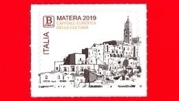 Nuovo - MNH - ITALIA - 2019 - Matera, Capitale Europea Della Cultura - Città Dei Sassi  - B Zona 1 - 2011-...: Mint/hinged