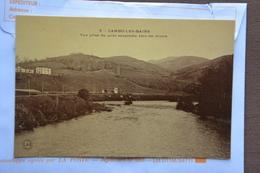 CAMBO-les-BAINS-vue Prise Du Pont Suspendu Vers Les Monts-offerte Par Chocolat Vinay-papier Glace - Cambo-les-Bains