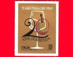 Nuovo - MNH - ITALIA - 2019 - 20 Anni Della Guida Bibenda – Calice Di Vino - B - 6. 1946-.. Repubblica