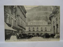 CPA  63 LE MONT-DORE Rue Ramond Et L'Etablissement Thermal TBE - Le Mont Dore