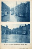 WARCQ. Inondations Janvier 1926 - Frankrijk