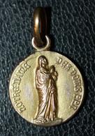 """Pendentif Médaille Religieuse Début XXe """"Notre-Dame Des Doms / Avignon"""" Religious Medal - Religion & Esotérisme"""