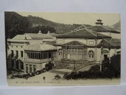 CPA  63 LE MONT-DORE Le Casino TBE - Le Mont Dore