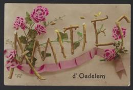 AMITIES D OEDELEM * OEDELEM * BEERNEM * 1921 * 2 SCANS - Beernem