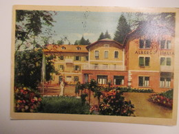 1957 Albergo ITALIA Vetriolo Frazione Levico Terme - Trento