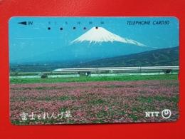 JAPAN - T-94  PHONECARD MAGNETIC NTT -290-447, Railway, Train - Japon