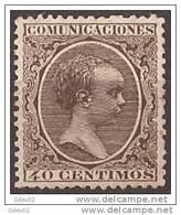 ES223SF-2226TSC.MCES1.España.Spain   .Espagne.ALFONSO XIII .1889/99(Ed 223**) 2 MARQUILAS. - Sellos