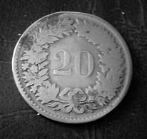 SUISSE 20 Rappen 1850 BB (B14 06) - Suiza