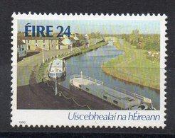 IRLANDE - EIRE - IRELAND - 1986 - VOIES D'EAU IRLANDAISES - IRISH WATERWAYS - PENICHES - 24 - - 1949-... Republic Of Ireland
