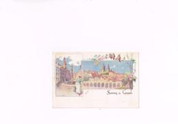 Souvenir De Lausanne Lausanne Corbaz & Cie Imp-edit 24, S.A.D.A.G.Genève.,carte Postale Ancienne 1901, Suisse.. - VD Vaud