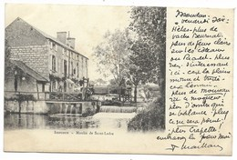 36-ISSOUDUN-Moulin De Saint-Ladre...1903 - Issoudun