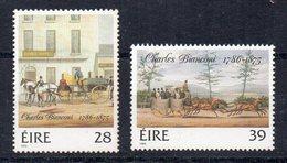 IRLANDE - EIRE - IRELAND - 1986 - CHARLES BIANCONI - 200th ANNIVERSARY OF BIRTH - BICENTENAIRE DE LA NAISSANCE - - 1949-... Republic Of Ireland