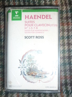 HAENDEL: SUITES POUR CLAVECIN-SCOTT ROSS/ Cassette Audio-K7 ERATO 2292-45453-4 - Audio Tapes