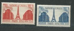 France   - Yvert Série  Yvert N° 911/912 *  ( Légère Trace De Charnière )  Ai 27703 - Unused Stamps