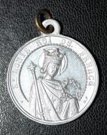 """Beau Médaillon Pendentif Médaille Religieuse """"Saint Louis Roi De France""""- Card. Dubois, Né à St Calais - Religion & Esotérisme"""