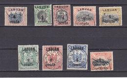 LABUAN 95/103 USED - Borneo Del Nord (...-1963)