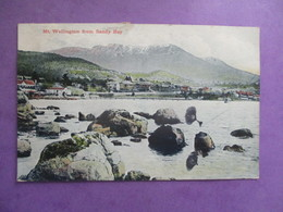 CPA  MONT WELLINGTON FROM SANDY BAY SAINTE HELENE - Hobart
