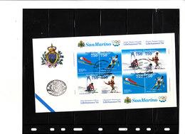 1357/60(2X) Jeux Olympiques De Lillehammer - Saut à Ski,Descente,Slalom Géant,Patinage Artistique (couple) - Hiver 1994: Lillehammer