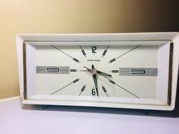 REVEIL SEIKO ROBIN -RETRO DES ANNEES 50-JAPAN- REVEIL QUI FONCTIONNE - Alarm Clocks