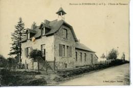 Dpt 35 Bonnemain Ecole De Terveaux - France