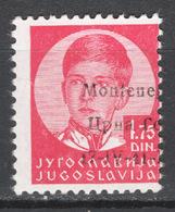 Montenegro 1941 Sass.14B **/MNH VF/F - Montenegro