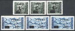 Istria E Litorale Sloveno 1946 Segnatasse Sass.14/19 **/MNH VF/F - Occ. Yougoslave: Littoral Slovène