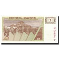 Billet, Slovénie, 2 (Tolarjev), Undated (1990), KM:2a, NEUF - Slovénie