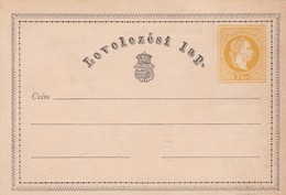 HUNGARY POSTCARD ENTIRE, NOT CIRCULATED OR USED. POSTALE ENTIER, POSTAL ENTERO-LILHU - Postal Stationery