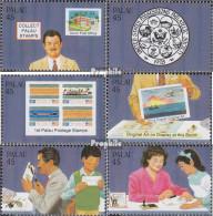 Palau-Inseln Mi.-Nr.: 249-254 (kompl.Ausg.) Postfrisch 1988 Briefmarkenausstellung - Palau