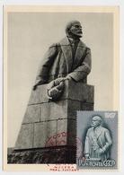 CARTE MAXIMUM CM Card USSR RUSSIA Lenin October Revolution Petrozavodsk - Cartes Maximum