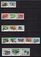 China P.R. 1995/1999 Mi# 2649-2650, 2833-2835, 2955-2957, 2991-2995, 3007-3009 ** MNH - Short Set - Definitives - 1949 - ... Volksrepubliek