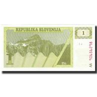 Billet, Slovénie, 1 (Tolar), KM:1a, SPL - Slovénie