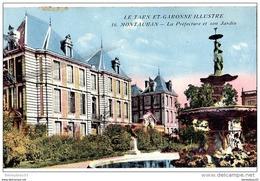 CPA (Réf : H589) 16 MAUTAUBAN (TARN-et-GARONNE 82) La Préfecture Et Son Jardin - Montauban