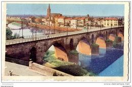CPA (Réf :H592) 19. MONTAUBAN (TARN-et-GARONNE 82) Les Deux Ponts Et Faubourg Toulousain - Montauban