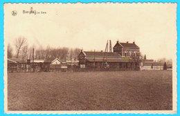 CPSM BIERGHES : La Gare ( Rare ) - Circulée - 2 Scans - Belgio