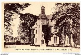 CPA (Réf : H 431) Château Du Plessis-Beuvreau - St-Laurent-de-la-Plaine (MAINE ET LOIRE 49) - Frankrijk