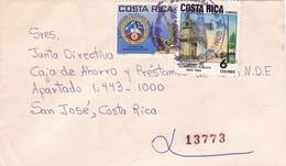 COSTA RICA CIRCULATED ENVELOPE, GUANACASTE TO SAN JOSE IN 1985 -LILHU - Costa Rica