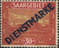 Saar Mi.-number.: D7 Unmounted Mint / Never Hinged 1922 Clear Brands - 1920-35 Société Des Nations