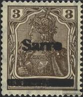 Saar 3III Unmounted Mint / Never Hinged 1920 Germania - Unused Stamps