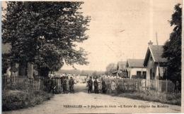 78 Militaire - Versailles - 5ème Régiment Du Génie - L'entrée Du Polygone Des Matelots  (sapeurs De Chemin De Fer) - Versailles