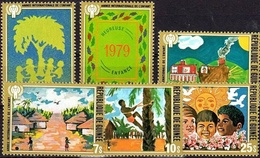 Guinea 1979, The International Year Of The Child, 6 Stamps - Other