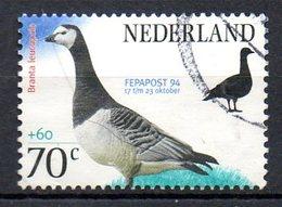 PAYS-BAS. N°1465 Oblitéré De 1994. Outarde. - Cranes And Other Gruiformes