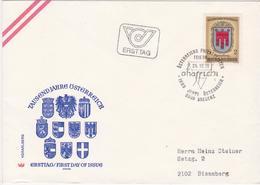 FDC 1976 - Mi.1527 (4) : 1000 Jahre Österreich - Vorarlberg , SST 6900 Bregenz - 1945-.... 2nd Republic