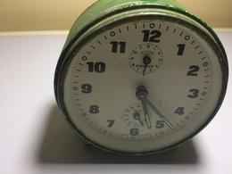 RÉVEIL VINTAGE -POLO. WEHRLE- GERMANY- REVEIL QUI FONCTIONNE - Alarm Clocks