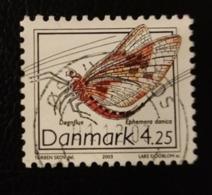 Danemark 2003 DK 1341 Mayfly Ephemera Danica Animaux Faune | Insectes - Oblitérés